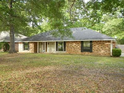 Shreveport LA Single Family Home For Sale: $153,000