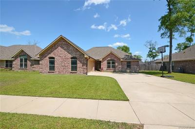 Haughton Single Family Home For Sale: 111 Bent Tree Loop