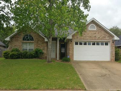 Bossier City Single Family Home For Sale: 2307 Middle Creek Boulevard