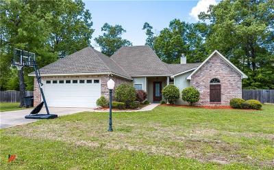 Benton Single Family Home For Sale: 124 Lone Oak Street