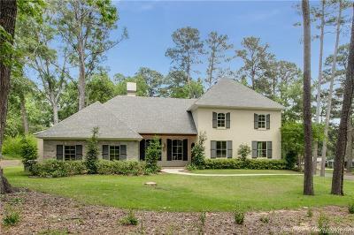 Shreveport Single Family Home For Sale: 604 Oak Hill Drive