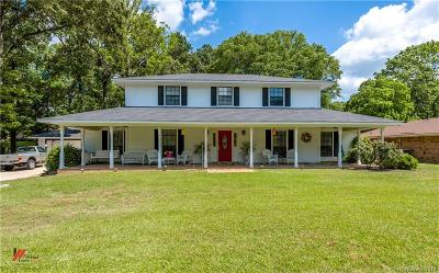 Haughton Single Family Home Contingent: 8205 White Oak Drive