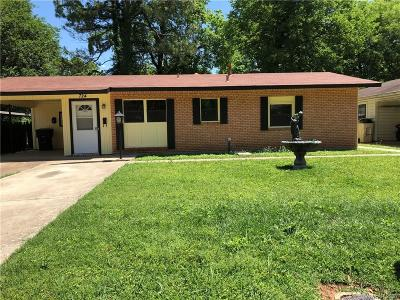 Bossier City LA Single Family Home For Sale: $82,500