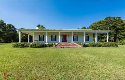 Keithville Single Family Home For Sale: 9436 Springridge Texas Line Road