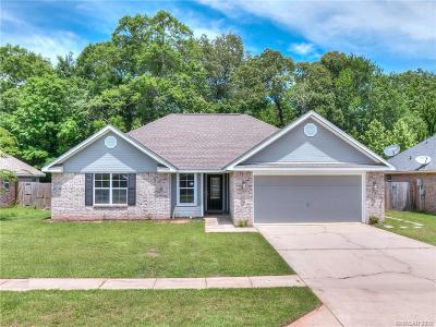 Haughton Single Family Home For Sale: 610 Alex