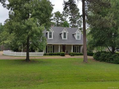 Shreveport Single Family Home For Sale: 8357 Indain Hills Boulevard