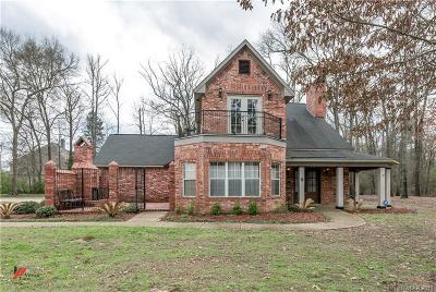 Shreveport Single Family Home For Sale: 7820 Oak Creek Trail