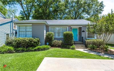 Shreveport Single Family Home For Sale: 731 Ockley Drive