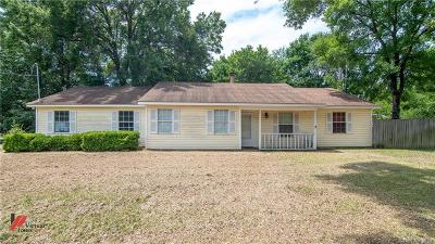 Haughton Single Family Home For Sale: 1090 Bodcau Station Road