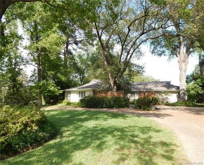 Shreveport Single Family Home For Sale: 5915 East Ridge Drive