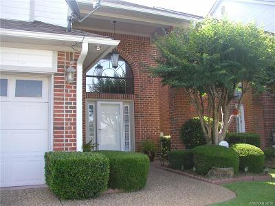 Bossier City Condo/Townhouse For Sale: 23 Meadow Creek Drive
