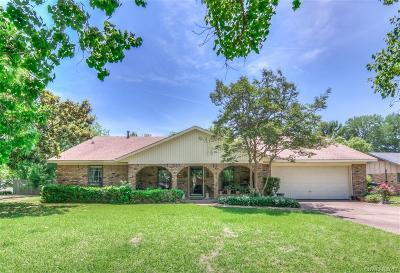 Bossier City LA Single Family Home For Sale: $195,000