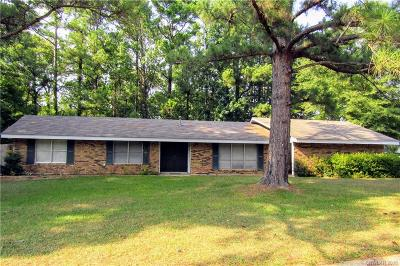Minden Single Family Home For Sale: 1315 Mark Drive