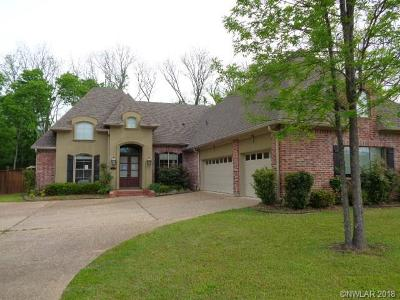 Bossier City Single Family Home For Sale: 1031 Fawn Hollow