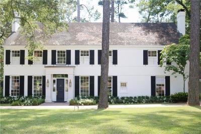 Shreveport Single Family Home For Sale: 535 Pierremont Road