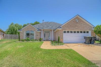 Bossier City Single Family Home For Sale: 6016 Pepperwood Circle