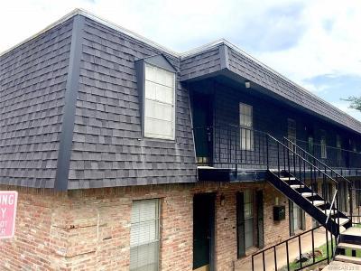 Shreveport Condo/Townhouse For Sale: 3820 Fairfield Avenue #56