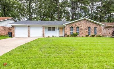 Shreveport LA Single Family Home For Sale: $130,000