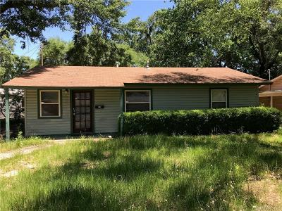 Shreveport LA Single Family Home For Sale: $31,000