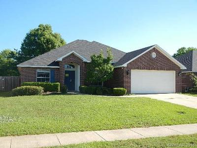 Bossier City LA Single Family Home For Sale: $190,000