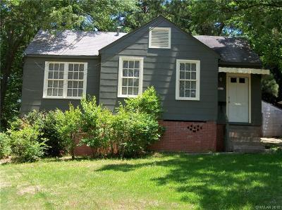 Shreveport Single Family Home For Sale: 1827 Dolphine Street
