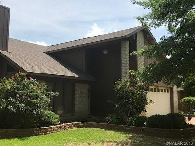 Bossier City Single Family Home For Sale: 534 Northpark Drive
