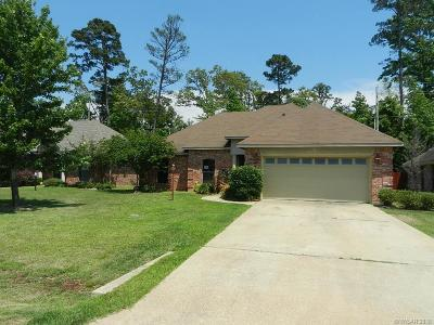 Haughton LA Single Family Home For Sale: $162,500