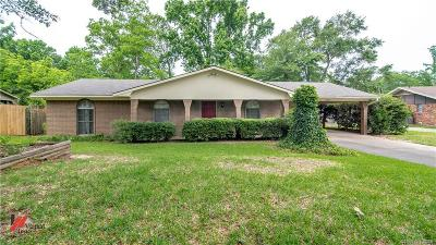 Shreveport Single Family Home For Sale: 9420 Pitch Pine Drive