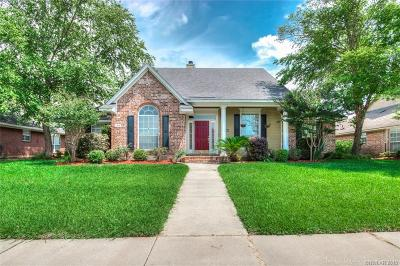 Bossier City Single Family Home For Sale: 1613 S Lexington Drive