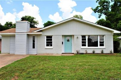 Bossier City Single Family Home For Sale: 4113 Parkway Drive