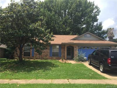 Bossier City Single Family Home For Sale: 4912 General Rusk Drive