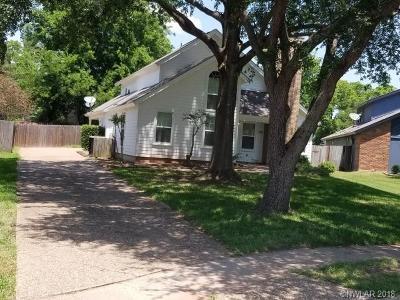 Bossier City LA Single Family Home For Sale: $171,500