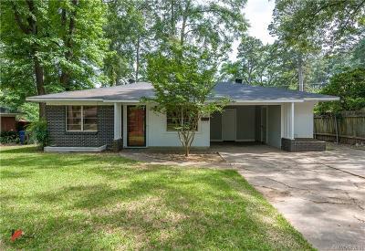 Shreveport LA Single Family Home For Sale: $113,900