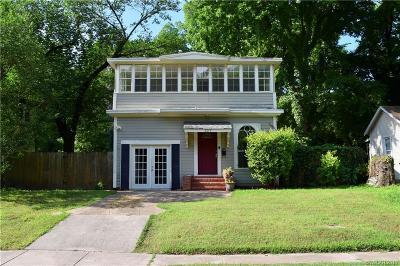 Shreveport LA Single Family Home For Sale: $140,000