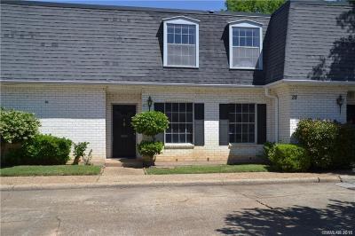 Shreveport LA Condo/Townhouse For Sale: $83,000