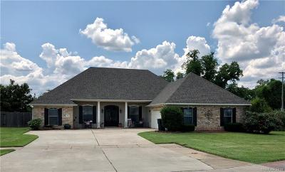 Bossier City LA Single Family Home For Sale: $275,000