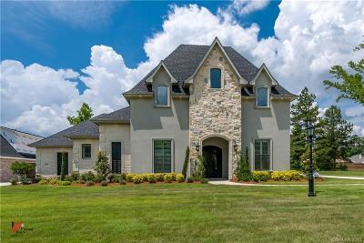 Shreveport Single Family Home For Sale: 430 Oakwood Trace Court