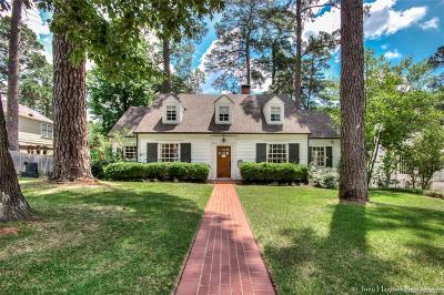 Shreveport Single Family Home For Sale: 4027 Baltimore Avenue