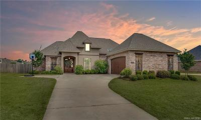 Haughton Single Family Home For Sale: 2839 Sunrise Pointe