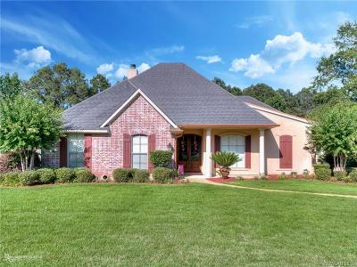 Shreveport Single Family Home For Sale: 9840 South Chase Circle