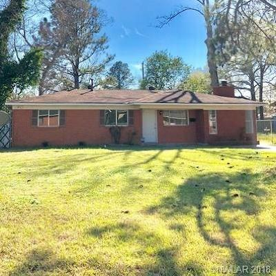 Shreveport Single Family Home For Sale: 734 Pickwick Place