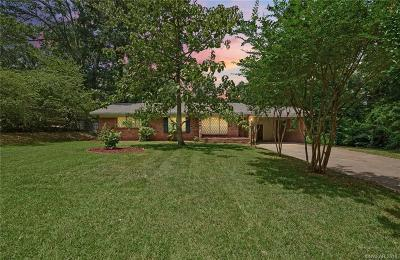 Caddo Parish Single Family Home For Sale: 3229 Tanglewood Drive