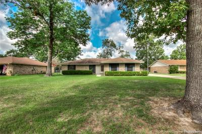 Benton Single Family Home For Sale: 4606 Parkridge Drive