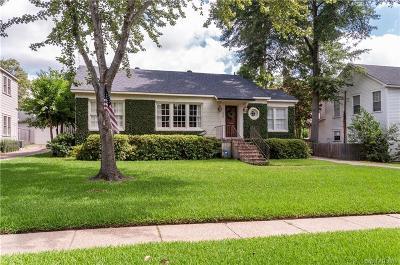 Shreveport Single Family Home For Sale: 538 McCormick Street