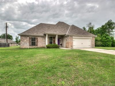 Keithville Single Family Home For Sale: 10175 English Oaks Drive