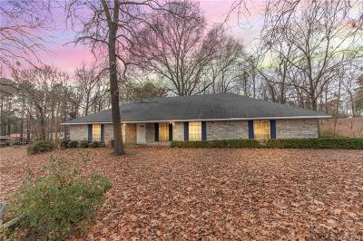 Caddo Parish Single Family Home For Sale: 8417 Indian Hills Boulevard