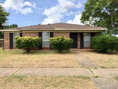 Bossier City Single Family Home For Sale: 4843 Camellia Lane