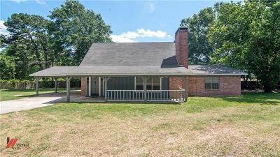 Shreveport Single Family Home For Sale: 8405 Kingston Road