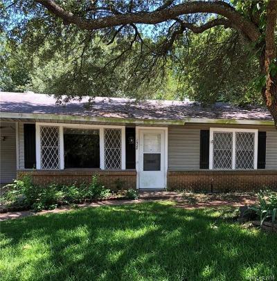 Bossier City LA Single Family Home For Sale: $69,900