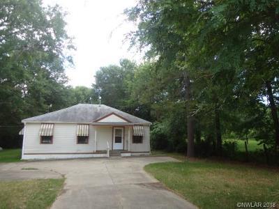 Keithville Single Family Home For Sale: 9357 Springridge Texas Line Road